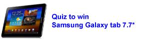 Quiz to Win Samsung Galaxy
